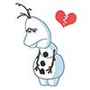 17141014bandrb 23 Christmas snowman emoji emoticons
