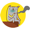 04 16 funny cat emoticons for email