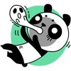 15 Act cute panda face images emoji