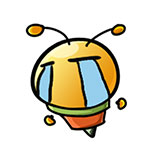 10 Cute little bee emoji modelling to download