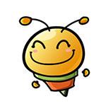 10 Cute little bee emoji modelling to download