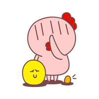 9 Cute little hen emoji emoticons images are downloaded