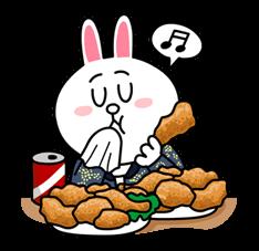08 16 Interesting fashion bunny emoji free download