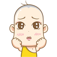 09 12 Lovely and interesting cartoon young monk emoji