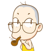 11 12 Lovely and interesting cartoon young monk emoji
