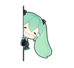 05 80  Hatsune Miku emoticons gifs emoji free download