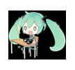 50 80  Hatsune Miku emoticons gifs emoji free download