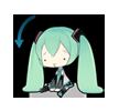 60 80  Hatsune Miku emoticons gifs emoji free download