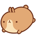 funnygifsbox.com 2016 06 26 19 46 55 140 Fat rabbit life record emoji gifs