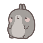 funnygifsbox.com 2016 06 26 19 48 03 140 Fat rabbit life record emoji gifs