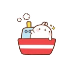 funnygifsbox.com 2016 06 26 19 48 19 140 Fat rabbit life record emoji gifs