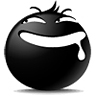 30 The Blacy of emoticons(Emoticon free download) iPhone Android Emoticons Animoji