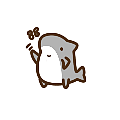 Here comes the lovely shark. emoji