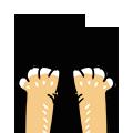 16 Cute stray dog emoji